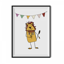 Retro vespas cushion cover