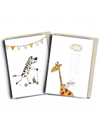 Circus greeting cards